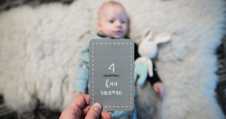 4 kuu vanune